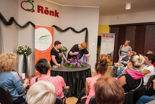 Małgorzata Niska pokaz florystyczny RENK