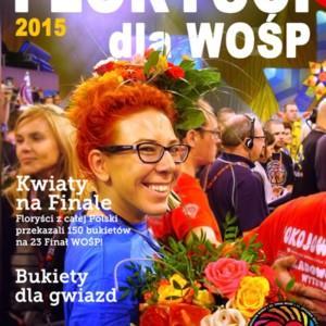 Florystyczni wolontariusze czyli magazyn Floryści dla WOŚP 2015