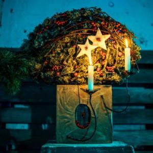 Zima według Dmitra Turcana - nowy pomysł na pokazy florystyczne?