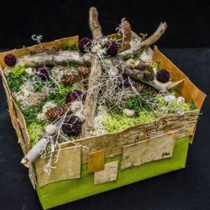 Wachlarz, flower box i inne pomysły na artystyczne pakowanie prezentów