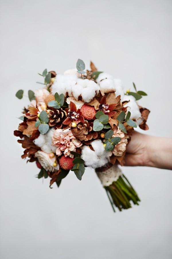 Bukiet ślubny mieszany