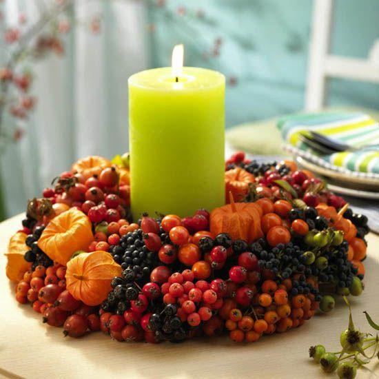 Miechunka rozdęta, aronia, jarzębina, róża fot. Lushhome.com