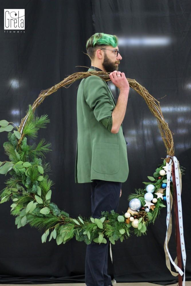 florystyka bożonarodzeniowa