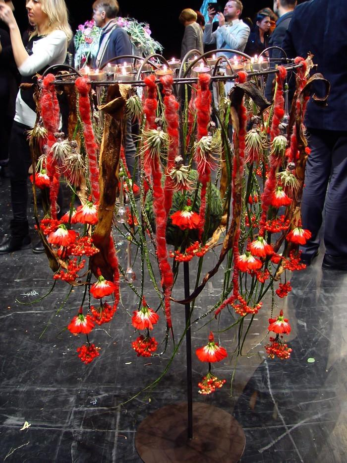 Pokaz florystyczny w Kownie