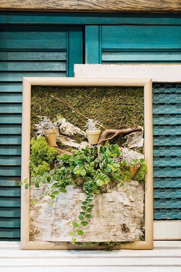 Obraz florystyczny, praca: Katarzyna Teper-Dziendziel