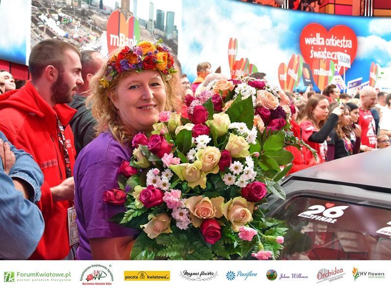 Ewa Ogrodowicz, Floryści dla WOŚP