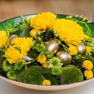 Wielkanocne dekoracje – chryzantema będzie trendy!