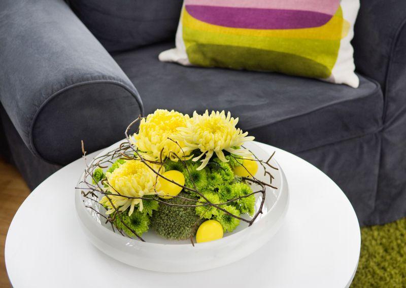 Wielkanocne dekoracje florystyczne