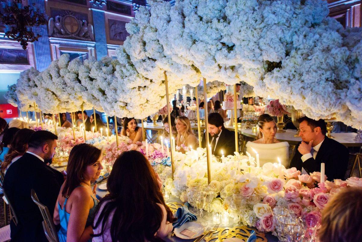 dekoracja sali weselnej Federica Ambrosio