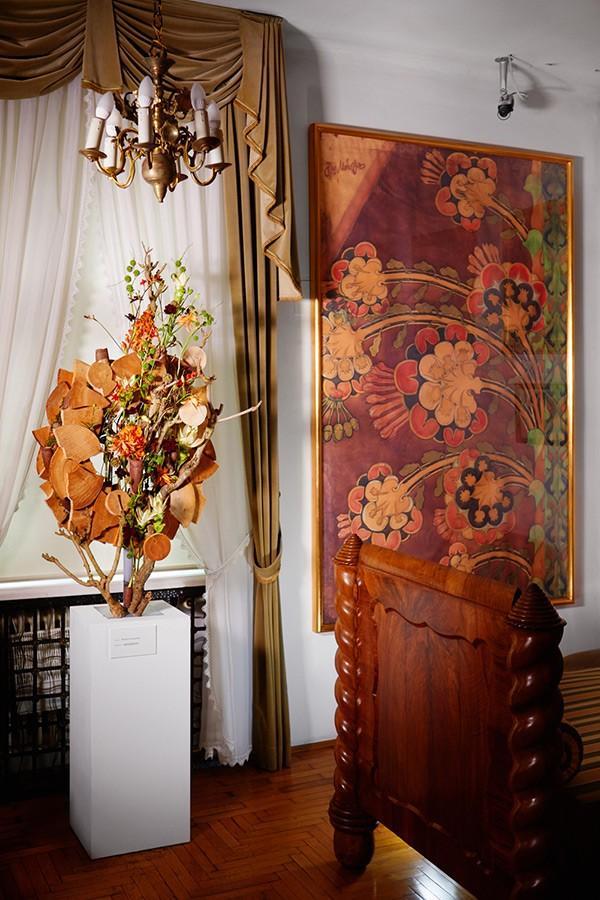 """Interpretacja florystyczna obrazu """"Kwiaty"""""""
