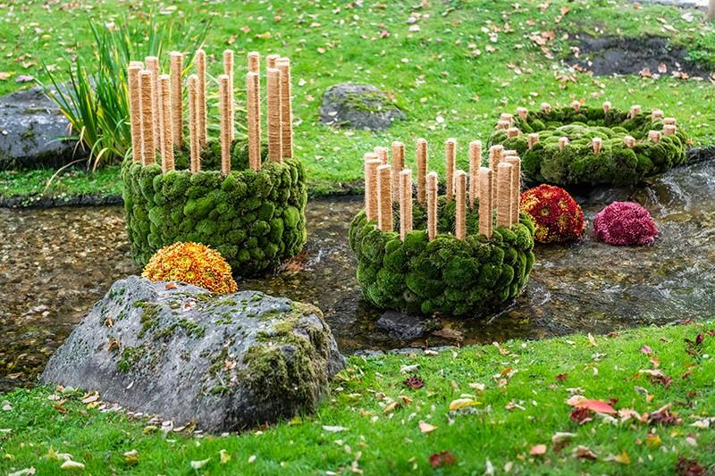 Duża forma florystyczna, ogrody japońskie, Hasselt