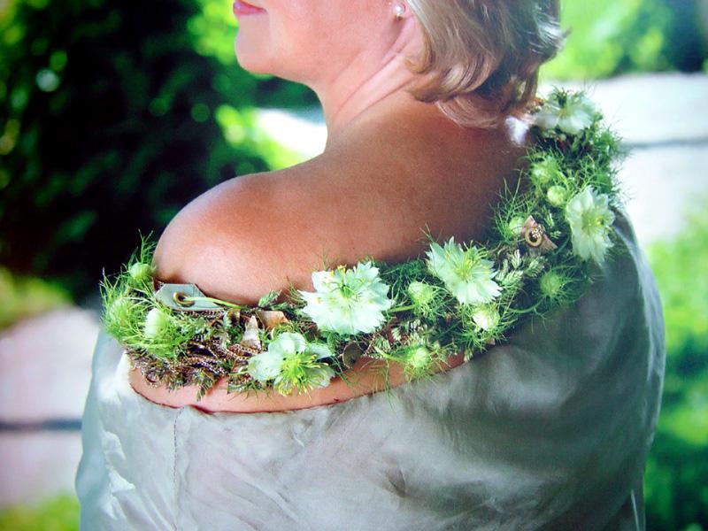 Pirjo Koppi Beautification With Floral Jewellery