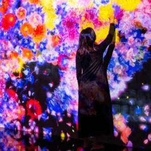 Sztuka cyfrowa i kwiaty
