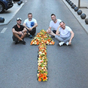 Bukareszt w kwiatach - niesamowite dekoracje Nicu Bocancei