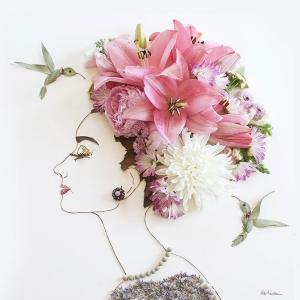 Niezwykłe dzieła sztuki z gałązek i kwiatów - musisz to zobaczyć!