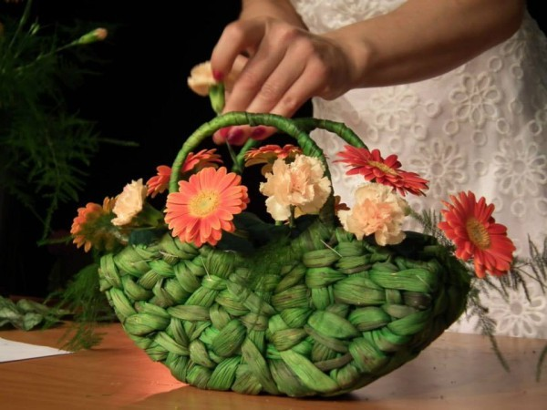 Pokaz florystyczny w Suchym Lesie - Agnieszka Krzymińska