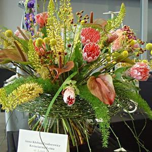 Konkurs dla kwiaciarń 2014'