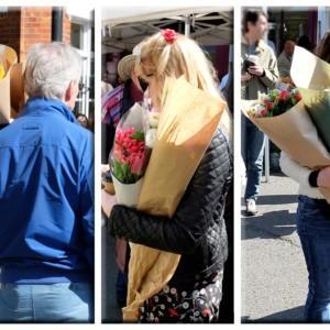 """Handel kwitnie, czyli """"foto-podróż"""" po Columbia Road Flower Market"""
