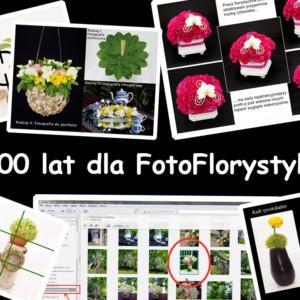 Czas zdmuchnąć 3 świeczki, czyli 100 lat dla FotoFlorystyki!