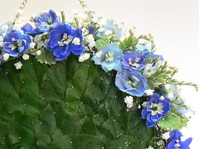 torebeczka z kwiatów