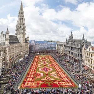 Perski dywan z kwiatów