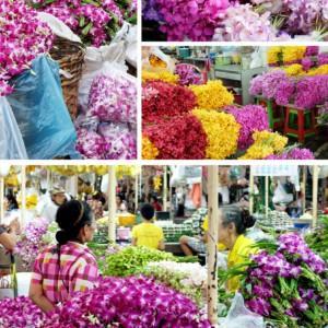 Hurtowy rynek kwiatów w Bangkoku, czyli FotoFlorystyczne pocztówki z Tajlandii cz. II