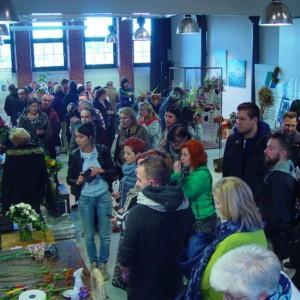Mistrzostwa florystyczne w Starej Rzeźni