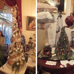 Jak mistrz florystyki Piotr Marzec wyczarował Boże Narodzenie w pałacu