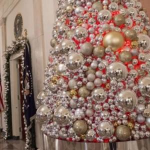 Świąteczne ozdoby w Białym Domu
