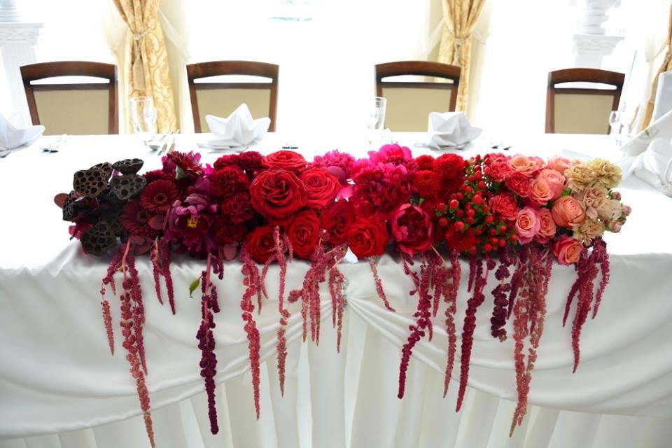 dekoracja stołu ślubnego