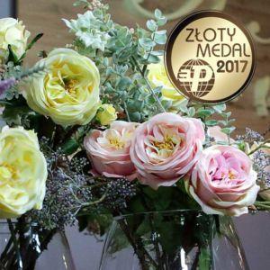 Złoty medal dla róży z efektowną łodygą!