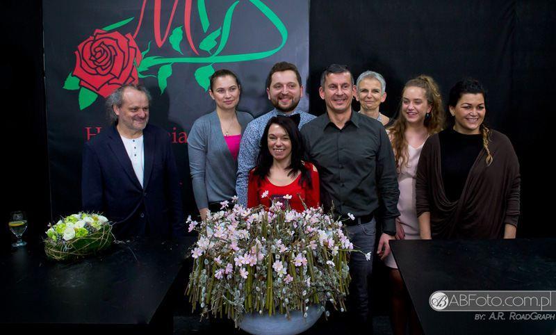 Pokaz florystyczny w Hurtowni Kwiatów Róża