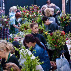 Dzień florysty w Hurtowni Kwiatów Róża foto: AB Foto