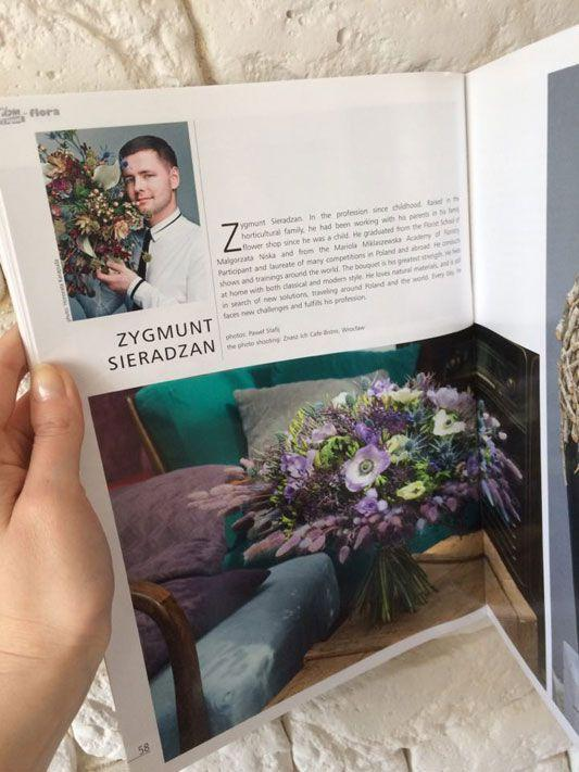 Setny numer NDIO-Flora, praca: Zygmunt Sieradzan