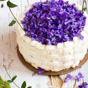 Kulinarne spojrzenie na kwiaty - fiołki