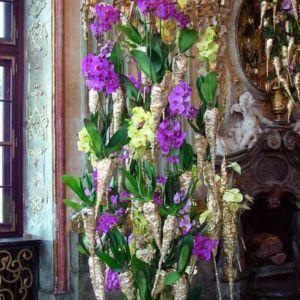 Zamek Książ florystycznie