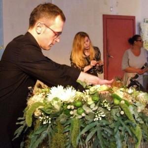 Tomasz Paszczyński mistrz florystyki