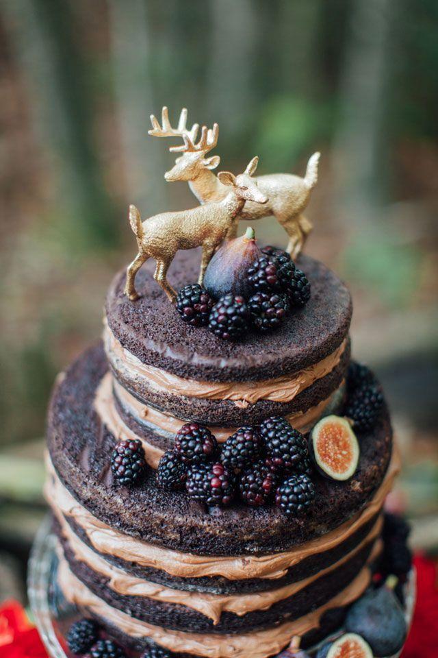 Leśny ślub z owocami? Czemu nie? Fot. Pinterest.com