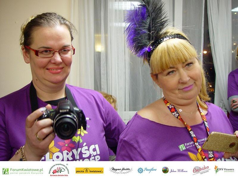 Mariola Bednarska i Renata Jędzrzejewska, Floryści dla WOŚP