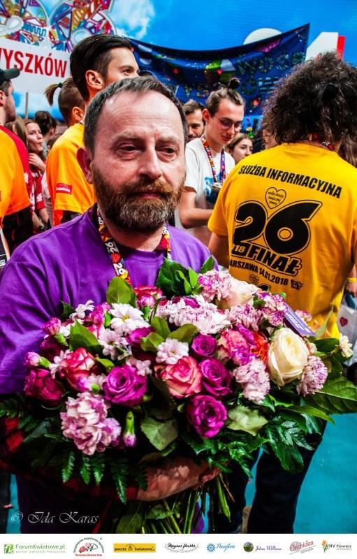 Michał Bursig, Floryści dla WOŚP
