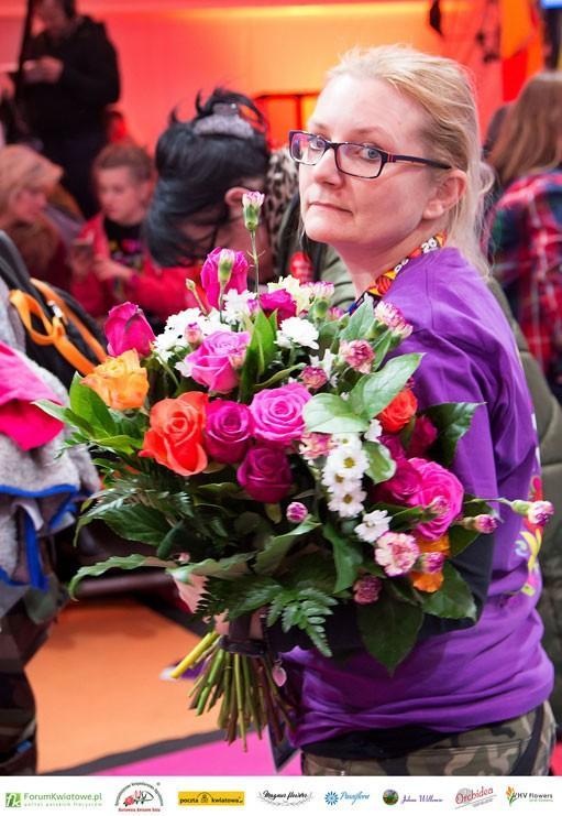 Ewa Nowicka, Floryści dla WOŚP
