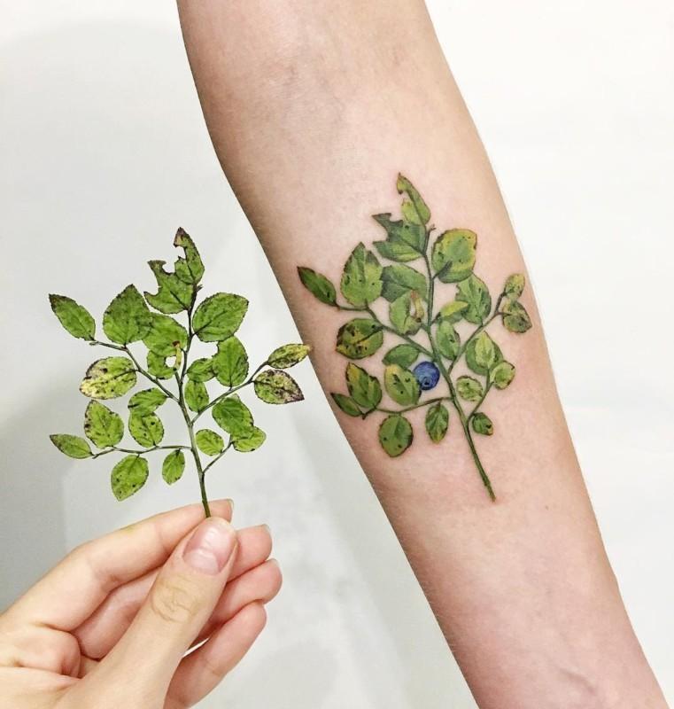 Roślinne Tatuaże Czyli Nowy Pomysł Na Nowy Rok