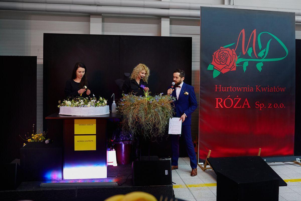 Wiosenna niespodzianka - pokaz florystyczny w Hurtowni Kwiatów Róża, fot. Marcin Chruściel