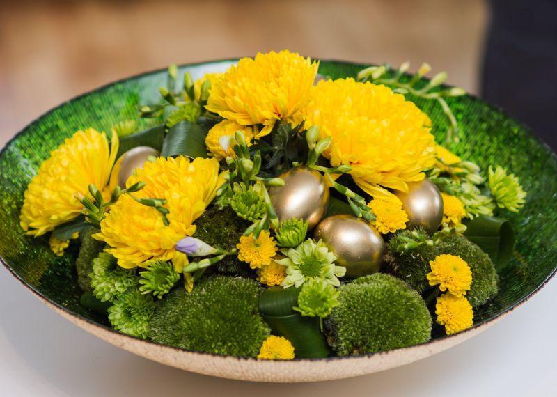 świąteczne dekoracje florystyczne