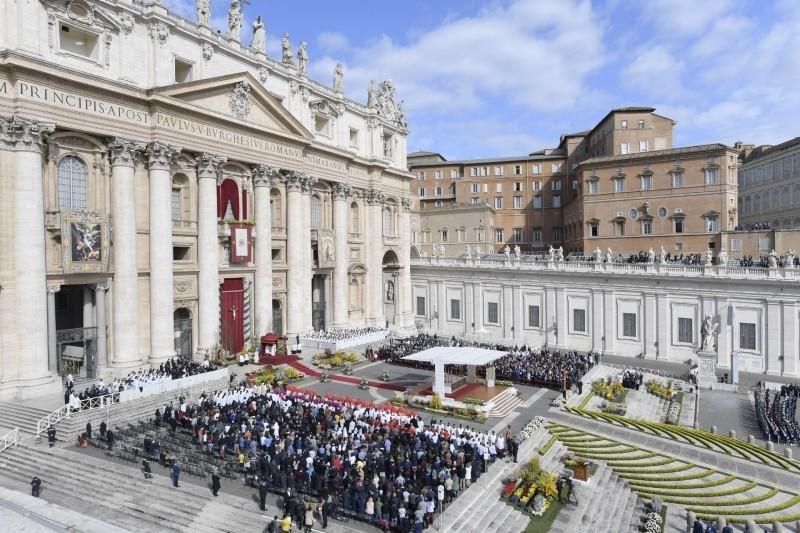 kwiaty Watykan