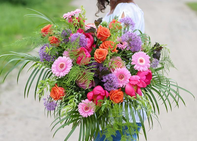 kwiaty na Dzień Matki