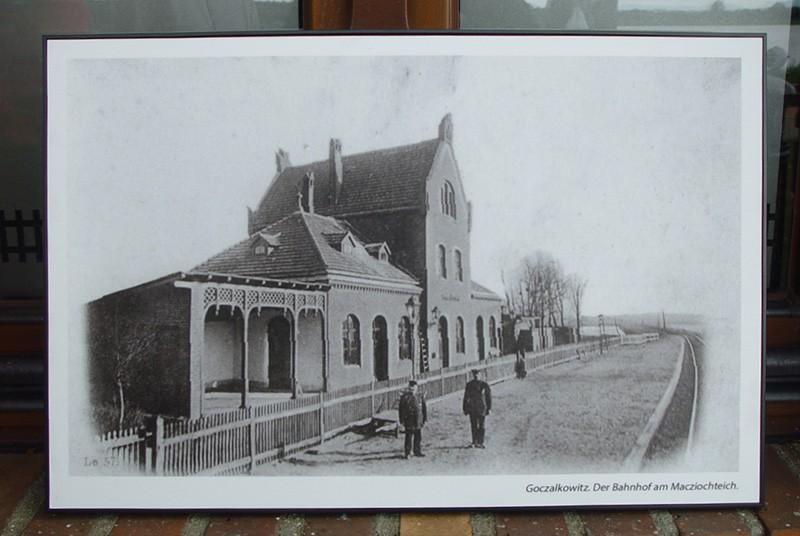 Stary dworzec w Goczałkowicach-Zdroju