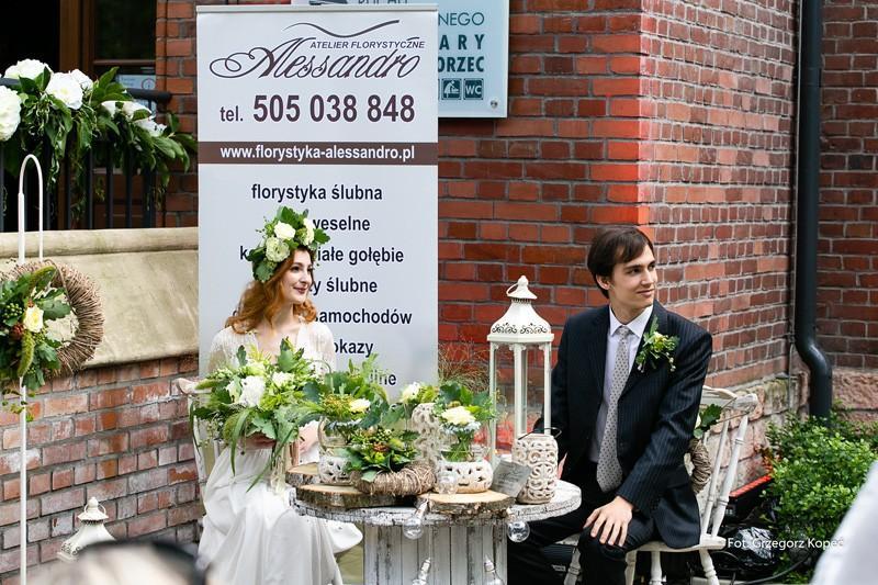 Pokaz florystyki ślubnej - Alessandro
