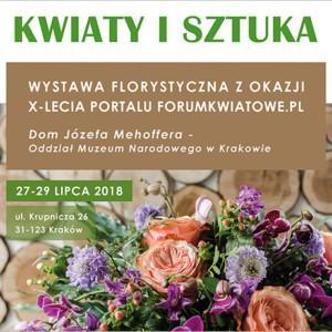 wystawa florystyczna Kwiaty i Sztuka