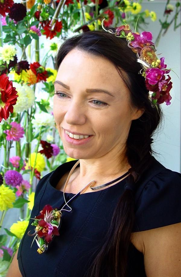 biżuteria floralna